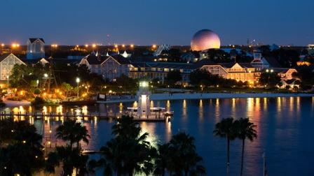 Beach Club and Epcot